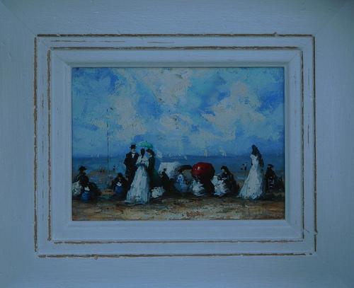 El cuadro de la pintora que murió by JoseAngelGarciaLanda