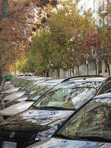 Fila de coches by JoseAngelGarciaLanda