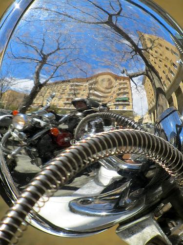 Yo en mi moto en otra moto by JoseAngelGarciaLanda