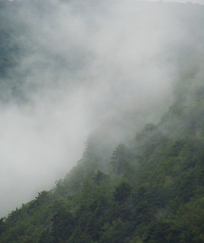 Neblinas por arriba