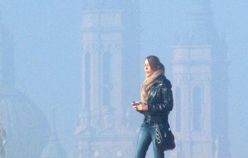 Chica con torres 2 by JoseAngelGarciaLanda