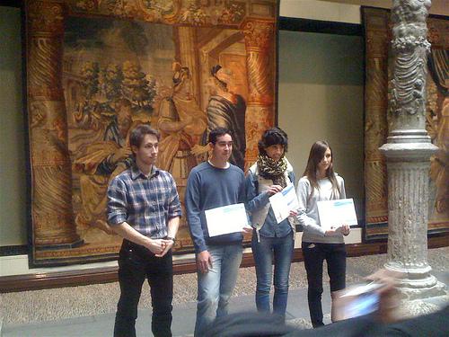 Álvaro en la entrega de premios by JoseAngelGarciaLanda