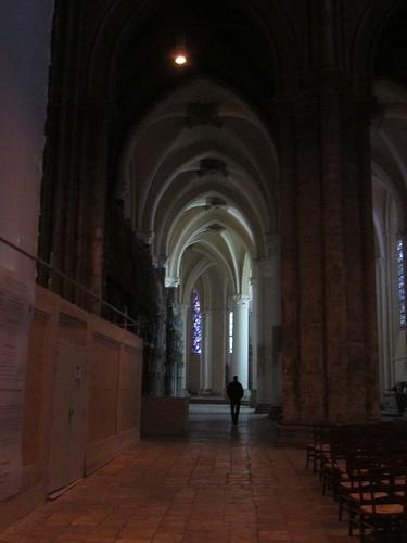 Yo por la catedral de Chartres by JoseAngelGarciaLanda