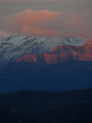 Los montes de Biescas desde Monrepós by JoseAngelGarciaLanda