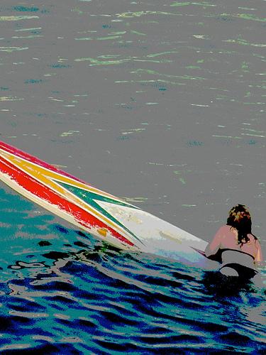 Surfista posterizada by JoseAngelGarciaLanda
