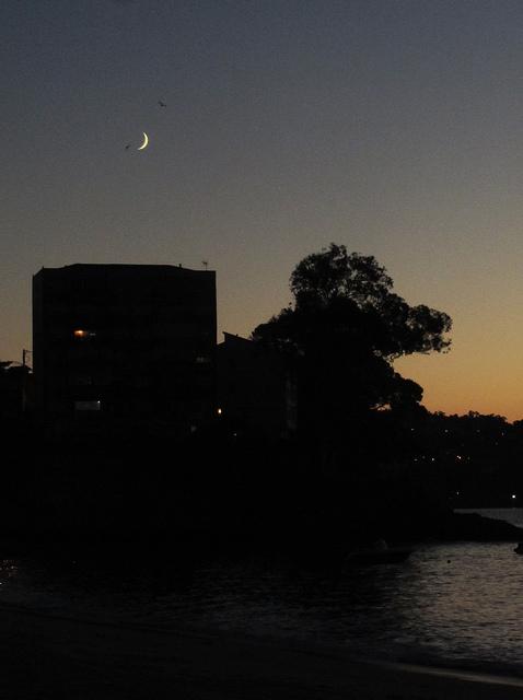Moon evening