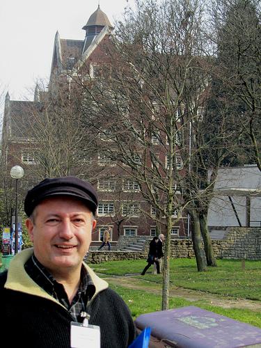 Yo y mi conferencia en París by JoseAngelGarciaLanda