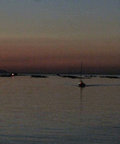 Boat alone by JoseAngelGarciaLanda