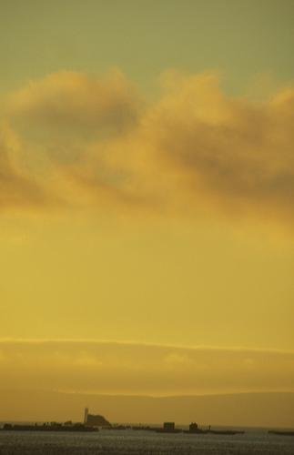 El cielo verde y naranja by JoseAngelGarciaLanda