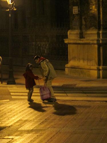 Oscar y la pequeña Linza by JoseAngelGarciaLanda