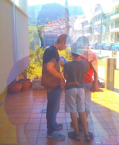 Observando a los chavales by JoseAngelGarciaLanda