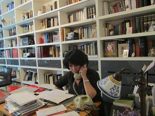 Beatriz in her study by JoseAngelGarciaLanda