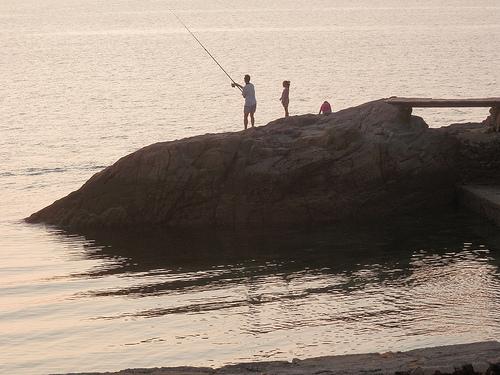 Roca para pescar 2 by JoseAngelGarciaLanda