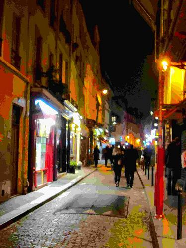 Par la rue Mouffetard by JoseAngelGarciaLanda