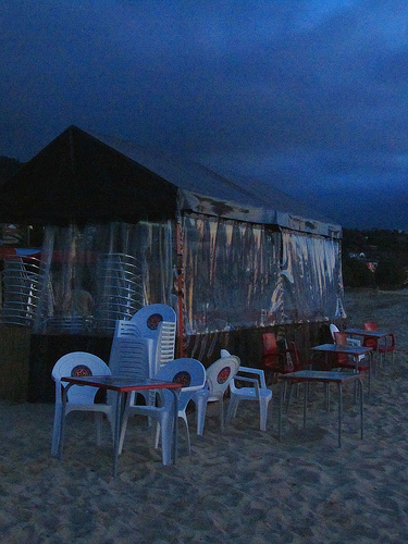 Evening at the Chiringuito 3 by JoseAngelGarciaLanda