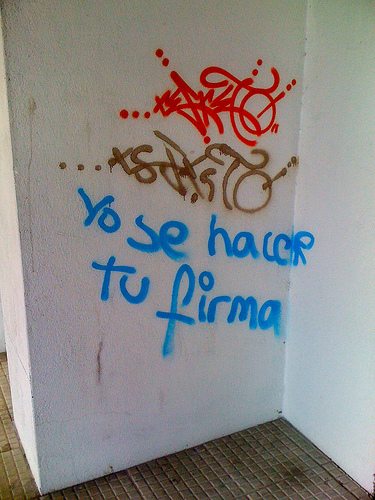 Yo sé hacer tu firma by JoseAngelGarciaLanda