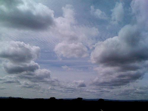 Nubes del camino by JoseAngelGarciaLanda