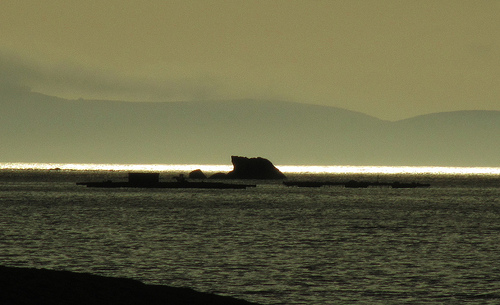 El mar iluminado by JoseAngelGarciaLanda