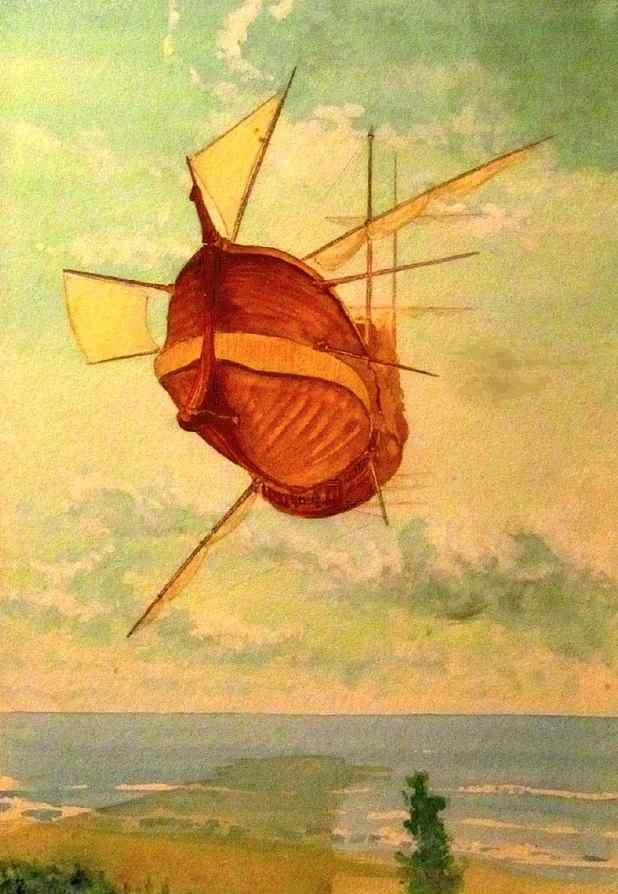 barco flotante