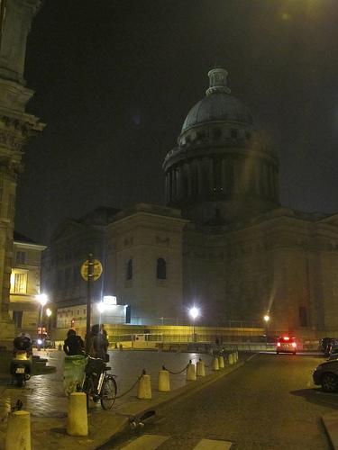 Le Panthéon la nuit by JoseAngelGarciaLanda