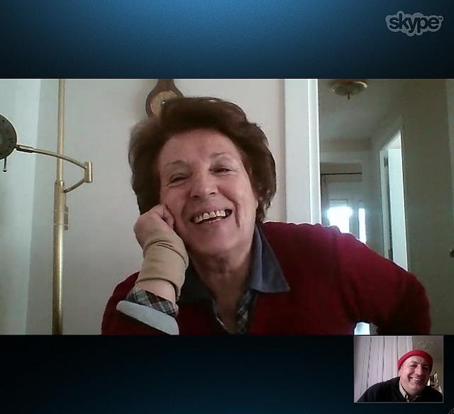 Otra foto con mami