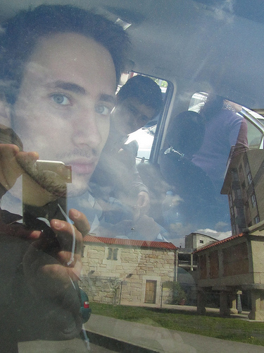 Embarcando en el coche by JoseAngelGarciaLanda