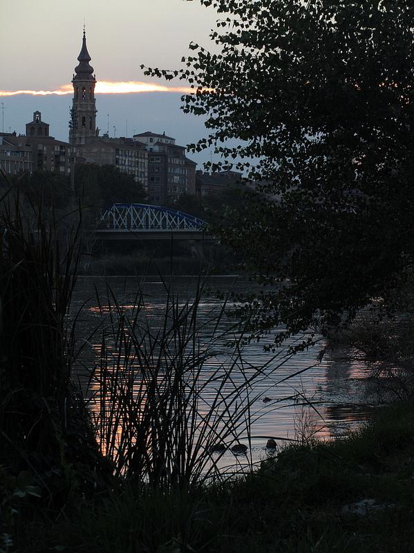 La Seo y el Puente de Hierro