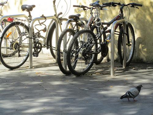 Una foto de bicis y luces by JoseAngelGarciaLanda