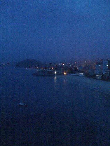 The Blues Evening by JoseAngelGarciaLanda