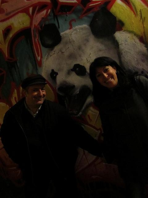 La foto del panda