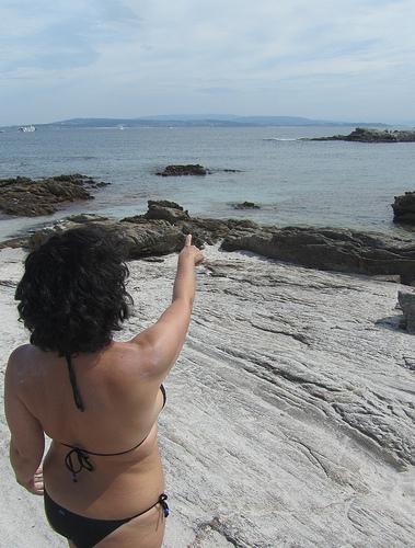 Señalando a la Roca del Abad by JoseAngelGarciaLanda