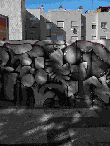 Pintada en sol y sombra by JoseAngelGarciaLanda