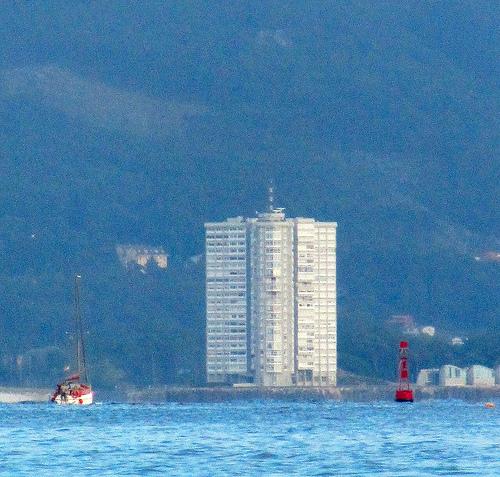 The building in the Sea by JoseAngelGarciaLanda